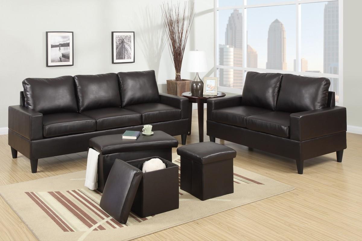 SALE!! F7598 2pc. Sofa and Loveseat Set