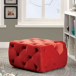 Sonia Ottoman in red