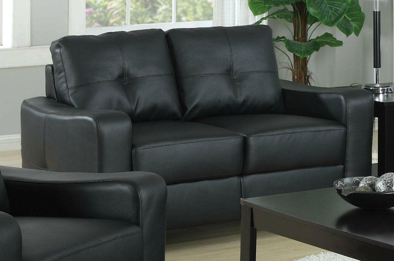 Joplin Loveseat Black