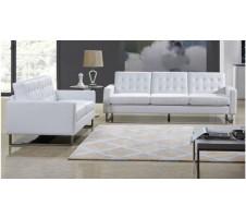 Park Heights Sofa & Loveseat Set - White