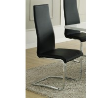 Nameth Modern Dining Chair, Black