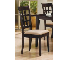 Mix & Match Rectangle Wheat Back Chair