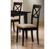 Mix & Match Rectangle Cross Back Chair