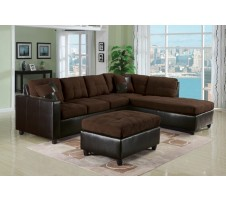 Harlow Sectional (chocolate)
