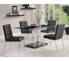 Rolien Chrome Dining Table