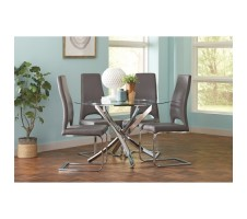 Augustin 5pc. Dining - Charcoal
