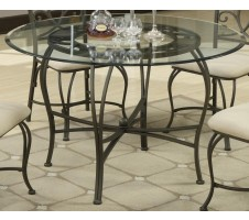 5 Piece Glass Table Base