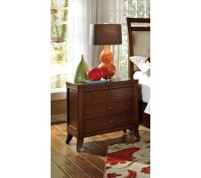 Ortiz 3 Drawer Night Stand