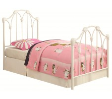 Scarlet Metal Bed
