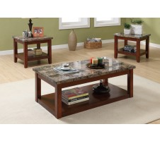 Firenze 3pc. Coffee Table Set