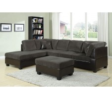 Alvah  2pc.  Reversible SECTIONAL & Ottoman