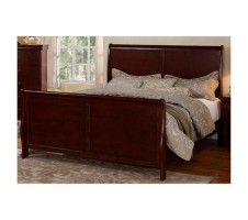 Louis Phillipe Queen Bed Frame (cherry)