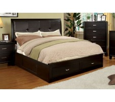 Harper Platform Queen Bed with Drawers