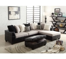 Arenth Sectional & Storage Ottoman
