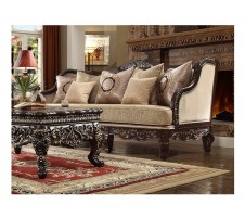 Dresden Wood Trim Sofa