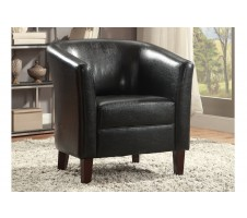 Romell Chair in black
