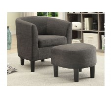 SALE !Luann Chair & Ottoman