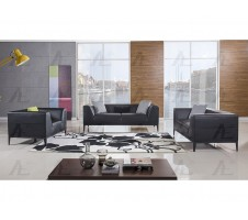 SALE!  AE-D820-BK 3pc. Modern Sofa , Loveseat  & Chair Set