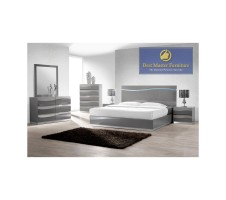 Leon 4pc Modern Queen Bedroom Set