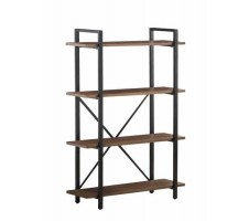 Riu Industrial Style Bookcase