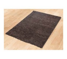 Zafirah Shagg Rug in Dark Brown