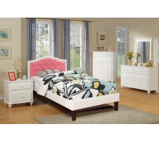 Belle Twin Platform Bed Frame