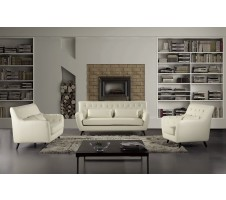 Kimball 3pc. Sofa, Loveseat, Chair set in ivory