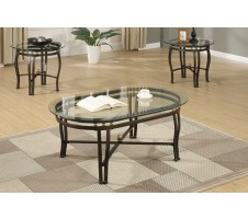 Rome 3pc. Coffee table set