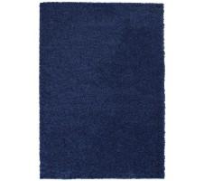Zandi Shagg Area Rug in Dark Blue