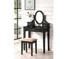 Kinley Vanity Set in black