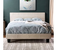 Edmond Bed - Cream