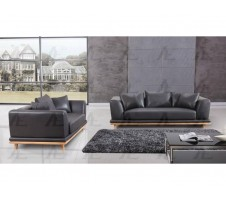 AE513-DG Sofa and Loveseat Set