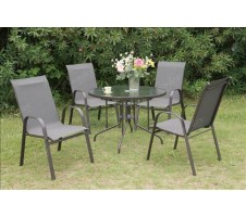 Viva 5pc Outdoor Dining Set
