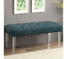 Sofie Bench  in Teal