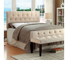 Leroy Full/Queen Headboard & Metal Frame