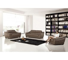 Bullrich 3pc. Sofa, Loveseat, Chair in dark tan