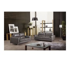 Monroe 2pc. Leather Sofa and Loveseat set