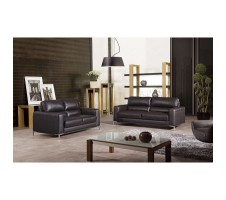 Monroe Leather 2pcs Sofa and loveseat