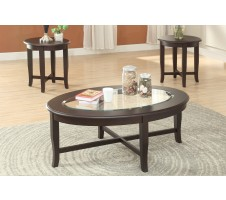Zurich 3pc. Coffee table set