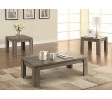 Urbana 3pc. Coffee Table set grey