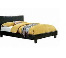 Twin Platform Bed Frame in Black