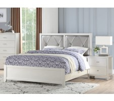 SALE! Starburst Queen Bed in Silver