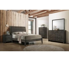 SALE! Chad Queen Bedroom Set in Gray Finish