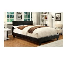 Aris Queen platform Bed with Speaker and Blutooth espresso