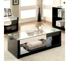 Mila Coffee table in glossy black