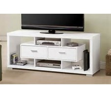 Vador TV Console in White