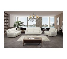 Infinity modern 3pc. Leather Sofa, Loveseat and Chair set