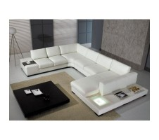 Modus 4pc. Sectional with lighting