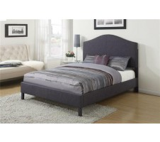 Claude Queen Bed Frame in grey