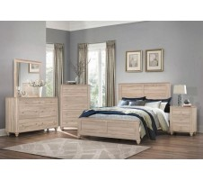 SALE! Martin Queen Bed Frame in Natural Finish